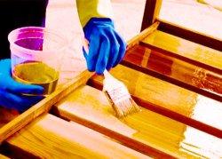 Отделка поверхностей древесины