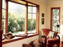 Уход за окнами из древесины