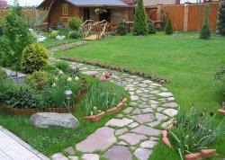 Типы покрытий в саду