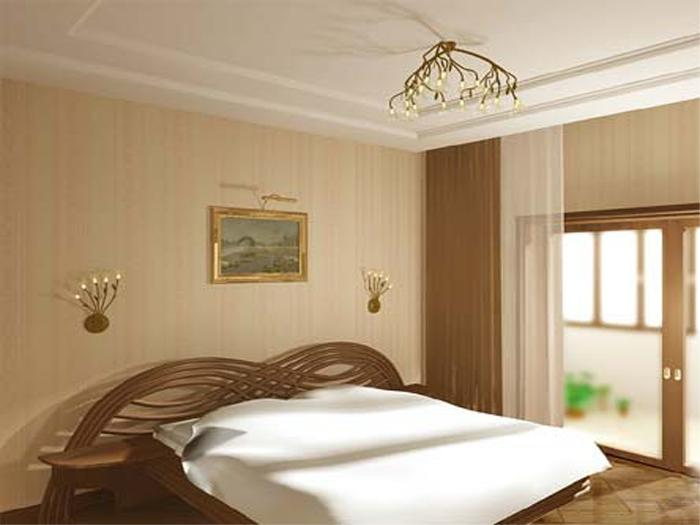 Недорогой дизайн спальни своими руками 380