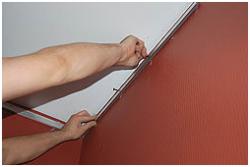 Особенности установки натяжного потолка