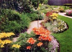 Цветники и клумбы в вашем саду