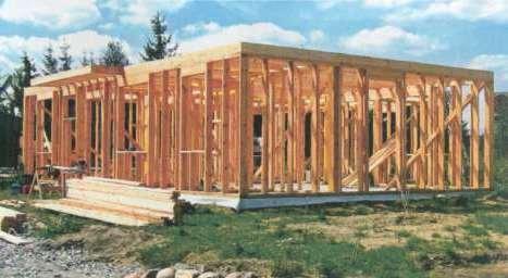 Технология строения каркасных домов своими руками
