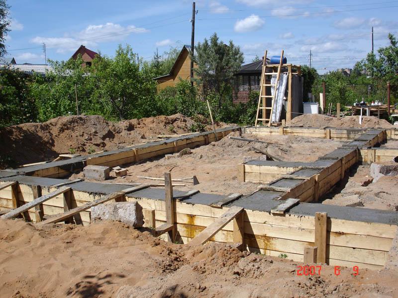 Как сделать фундамент для дачный дома 439