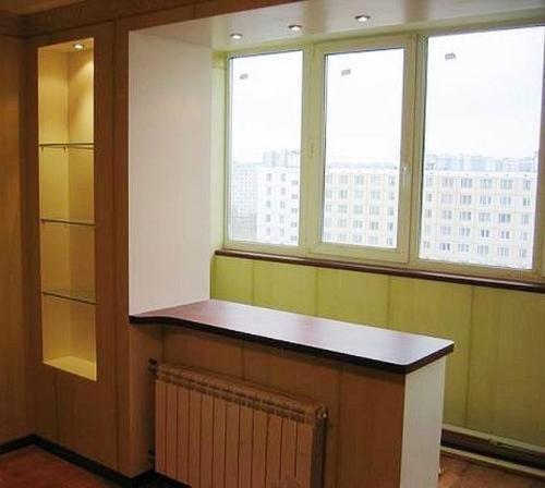 Утепленный балкон дизайн фото