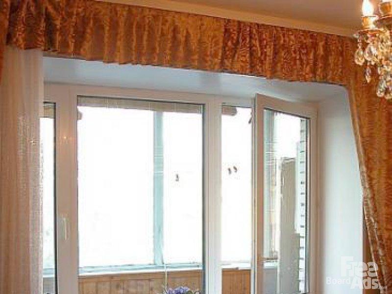 Как заменить балконную дверь самому ?? демонтаж части под две.