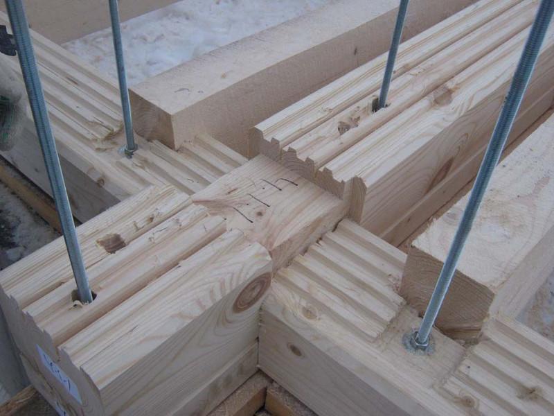 Дома из профилированного бруса строительство своими руками