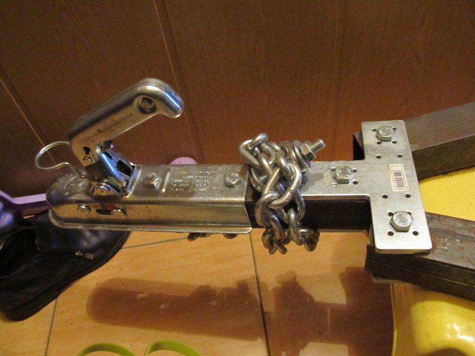 Замковое устройство для легкового прицепа своими руками 15