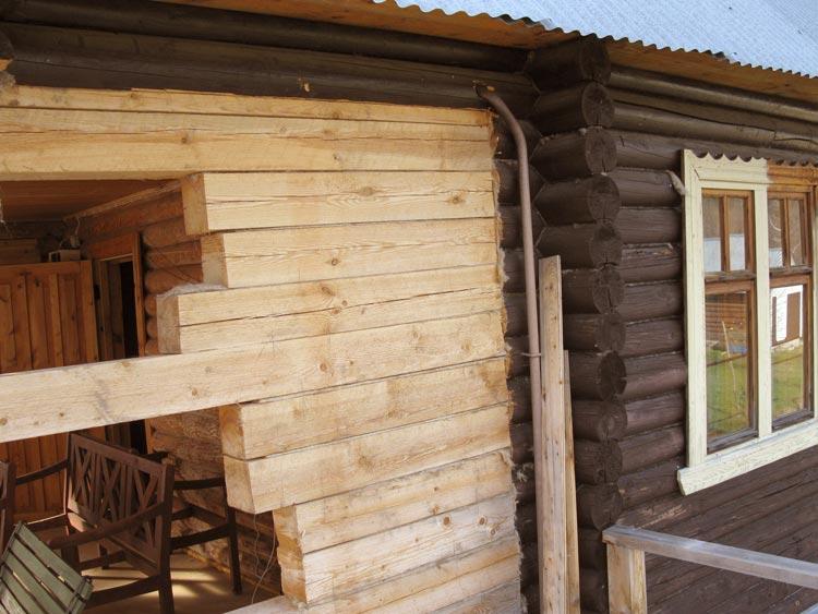 Ремонт старого деревянного дома своими руками фото