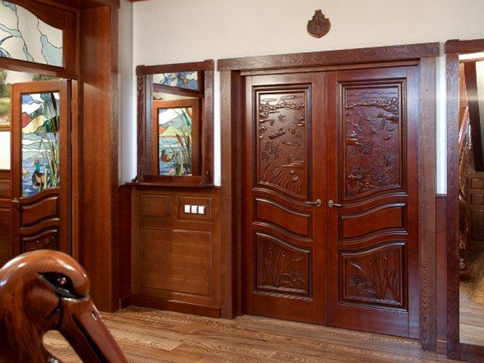 Белорусские межкомнатные двери из массива Официальный