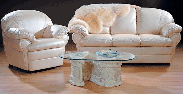 Мебель из кожи фото
