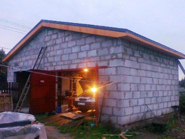 Как построить гараж недорого