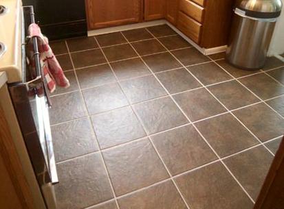 Как положить плитку на кухню на пол