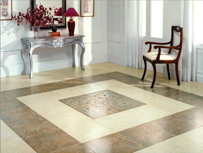 Дизайн плитки пол
