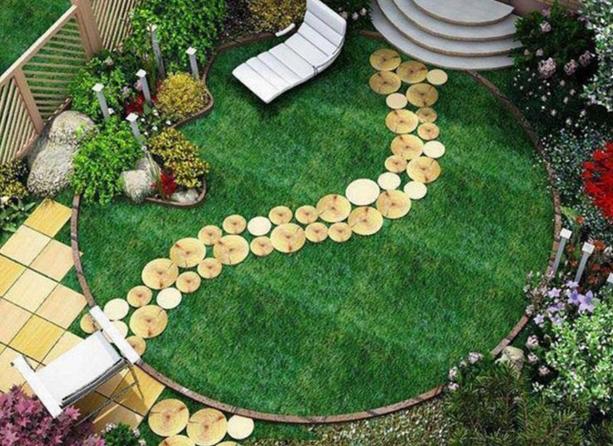 Как сделать садовый участок