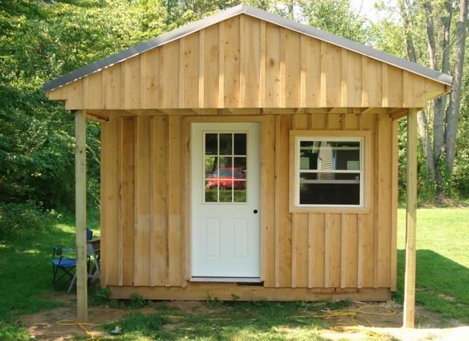 Самый дешевый дачный домик своими руками 331