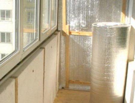 Как можно утеплить балкон.