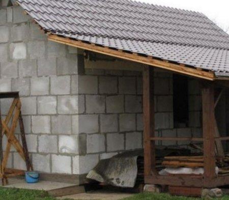 Как построить баню своими руками из газосиликатных блоков
