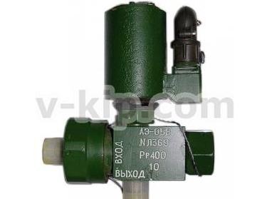 Электропневматический клапан для газовой системы