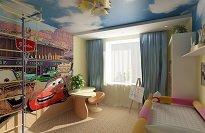 Как правильно организовать освещение детской комнаты