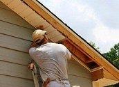 Как подшить свесы крыши