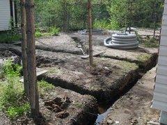 Как сделать дренаж участка с глинистой почвой