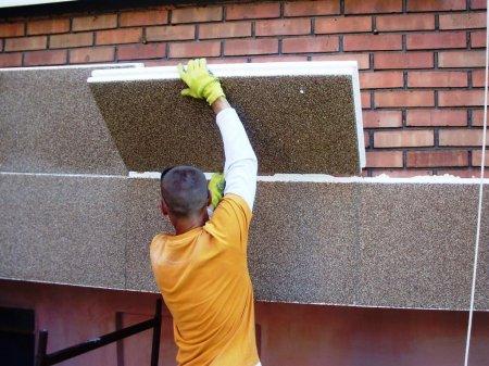 Материалы для утепления фасадов домов