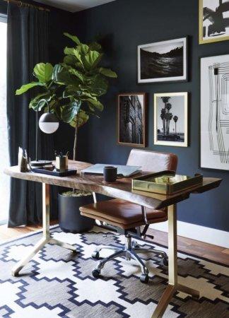 Как создать хороший интерьер домашнего кабинета