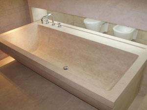 Ванны из искусственного мрамора: преимущества