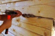 Чем проконопатить бревенчатый дом