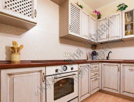 Кухонная мебель из деревянного массива - возможность творчества