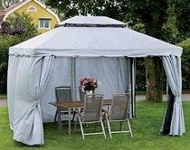 Как построить дачный шатер