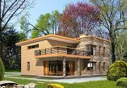 Использование плоской крыши при строительстве домов