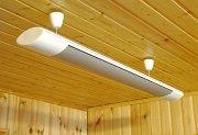Особенности применения потолочного инфракрасного обогревателя