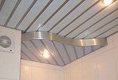 Какие бывают алюминиевые потолки