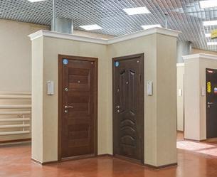 Выбор входной двери для офиса