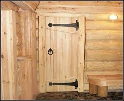 Как сделать дверь для бани