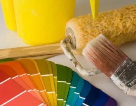 Особенности красящего материала для обоев под краску