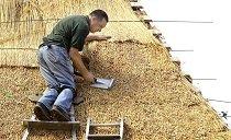Технология обустройства соломенной крыши