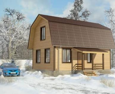 """Деревянные дома """"под ключ"""" от компании Илия-Русь"""