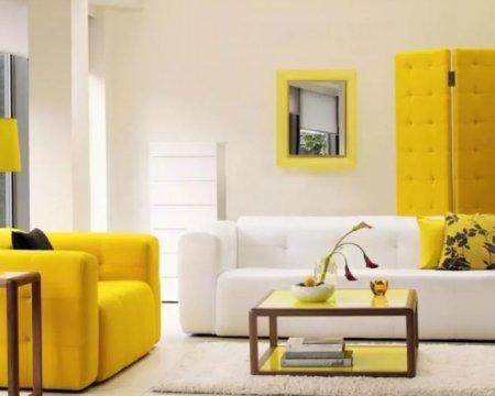 Стиль авангард в интерьере гостиной