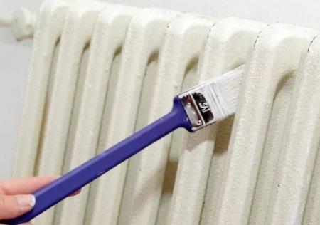 Как покрасить радиатор отопления?