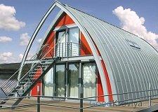 Особенности арочной крыши