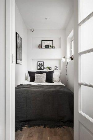 Очень маленькая спальня: удачные примеры оформления