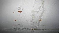 Ржавчина на потолке: что делать