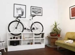 Как хранить велосипед в интерьере квартиры?