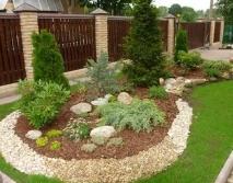 Декоративное обустройство садового участка