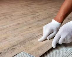 Укладываем виниловую плитку