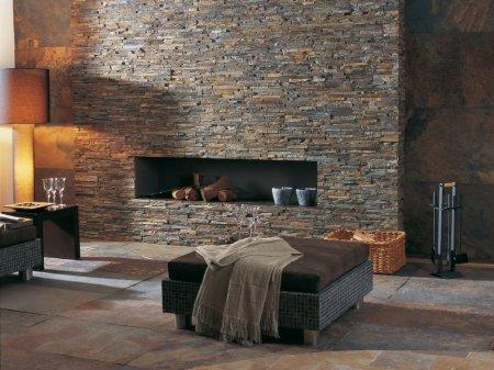 Декоративный камень – разнообразие и особенности материала