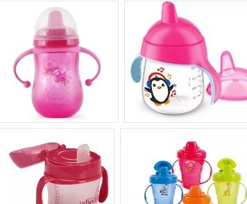 Поильник чашка-непроливайка с носиком для удобного и безопасного поения малышей